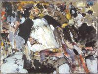 На рынке. Эскиз (1900-е)