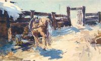 На скотном дворе (1900-е)