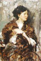 Портрет Е.К.Маковской (дочери художника К.Е.Маковского) (1908)