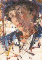Портрет Е.П.Алексеевой (1920)