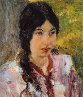 Портрет М.Г.Медведевой (1912)