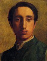 Автопортрет в зелёном жакете (1855-1856) (частная коллекция)