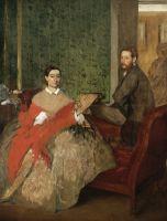 Эдмонд и Тереза Морбилли (1865-1866) (117.2 х 89.7) (Вашингтон, Нац. галерея)