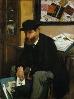Коллекционер гравюр (1866) (53 х 40) (Нью-Йорк, Метрополитен)