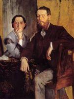 Эдвард и Тереза Морбилли (1867) (Бостон, Музей изящ.искусств)