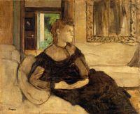 Мадам Теодора Гобийяр (1869) (55.2 х 65.1) (Нью-Йорк, Метрополитен)