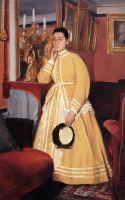 Портрет мадам Эдмондо Морбилли, урождённая Тереза де Га (ок.1869) (частная коллекция)