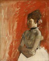 Балерина со скрещенными руками (ок.1872) (61.3 х 50.5) (Бостон, Музей изящ.искусств)