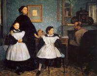 Портрет семьи Беллелли (1858-1859) (Париж, музей Орсэ)