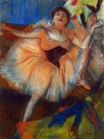 Сидящая танцовщица (1879-1880) (63.5 х 48.7) (С-Петербург, Эрмитаж)