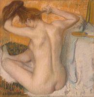 Женщина за туалетом (1885) (54 х 52.5) (С-Петербург, Эрмитаж)