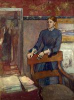 Елена Руарт в мастерской своего отца (1886) (Лондон, Нац. галерея)