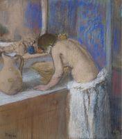 Женщина за туалетом (1895) (частная коллекция)