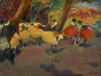 Перед выступлением (1896) (47.6 х 62.5) (Эдинбург, Нац. галерея Шотландии)