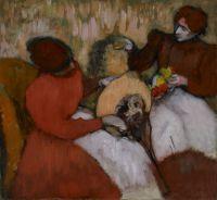 Модистки (ок.1898) (75.2 х 81.9) (Миссури, Сан-Луис, Музей искусства)