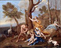 Воспитание Юпитера (середина 1630-х) (96.5 х 121) (Лондон, картинная галерея Далвич)