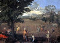 Времена года. Лето или Руфь и Вооз (1660-1664) (118 х 160) (Париж, Лувр)