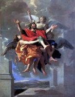 Экстаз св.Павла (1650) (128 х 96) (Париж, Лувр)