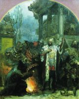 Александр Невский в Орде. 1876