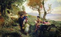 По дороге на праздник урожая. 1890-е