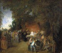 Брачный договор (ок.1711) (47 x 55) (Мадрид, Прадо)