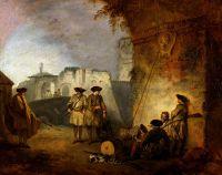 Ворота Валансьенна (ок.1710) (33 х 40) (Нью-Йорк, Коллекция Фрик)