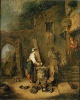 Кухарка (53 x 44) (Страсбург, Музей искусств)