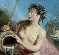 Нимфа фонтана (ок.1715-1716) (частная коллекция)