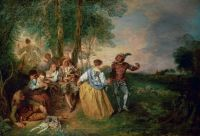 Пастушки (1717-1719) (56 x 81) (Берлин, Дворец Шарлоттенбург)