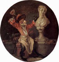 Скульптор (ок.1710) (22 х 21) (Орлеан, Музей искусств)
