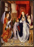 Благовещение (ок.1480-1489) (76.5 x 54.6) (Нью-Йорк, Метрополитен)_
