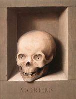 Диптих_Левая створка. Св.Иоанн Креститель (оборотная сторона) (ок.1470-1475) (31.2 x 24.4) (Мюнхен, Старая пинакотека)