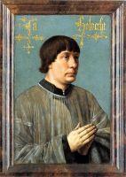 Портрет композитора Якова Обрехта (1496) (50,8 x 36,1) (Форт-Уорт, Музей искусства Кимбелла)