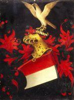 Портрет молящегося на фоне пейзажа (оборотная сторона) (ок.1480) (30,1 x 22,3) (Гаага, Королевская галерея Маурицхёйс).