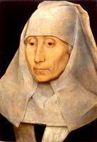 Портрет пожилой женщины (между 1468 и 1470) (25.6 х 17,7) (Хьюстон, Музей изящ.искусств)