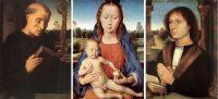 Триптих Бенедетто Портинари (1487) (центр - Берлин, Гос.музей, створки - Флоренция, Уффици)