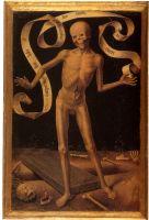 Триптих 'Земное тщеславие и Божественное спасение' (лицевая сторона, левая панель). Смерть