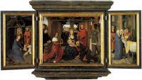 Триптих Яна Флорейнса (открыт) (1479) (Брюгге, Гос.музей)
