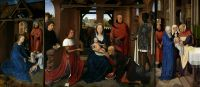 Триптих Яна Флорейнса (открыт) (1479) (Брюгге, Гос.музей)_