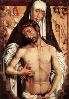Христос-Страстотерпец на руках Богоматери (ок.1480) (52 х 36) (Гренада, Капелла)