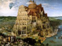 «Вавилонская башня», Брейгель