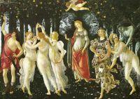 «Весна», Боттичелли, 1477, Уффици, Флоренция