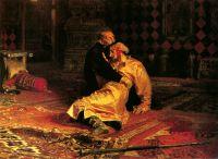 «Иван Грозный и его сын Иван 16 ноября 1581 года», И.Репин, 1870-1873