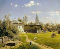 «Московский дворик», В.Поленов