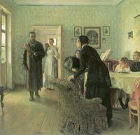«Не ждали», И.Репин 1884-1888