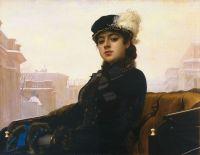 «Неизвестная», И.Крамской