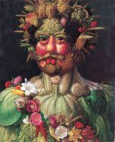 «Портрет императора Рудольфа II в образе Вертумна», Арчимбольдо, Джузеппе