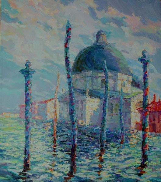 Утро Казановы.Венеция.