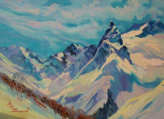 Дыхание гор.Кавказ.