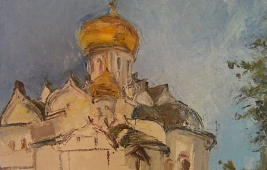 Звенигородский монастырь.